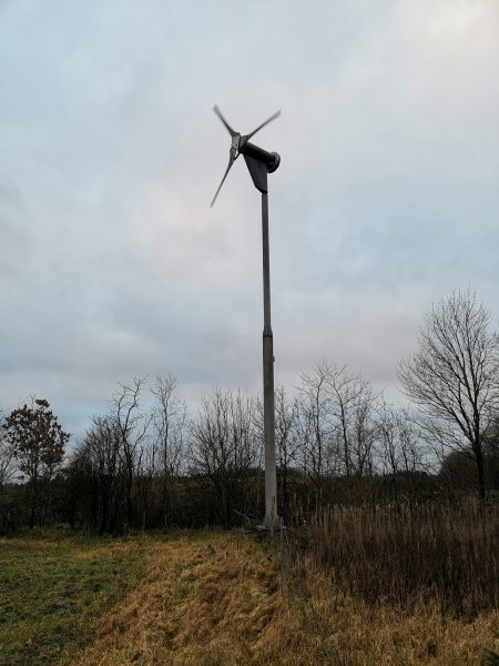 Proven/kingspan P11 / 6KW direct drive on wind-turbine com