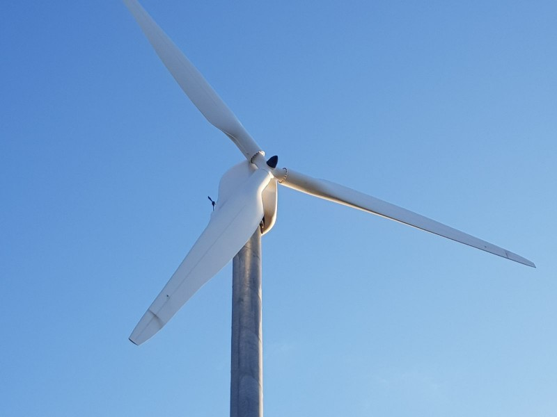 1x ERGOWIND EW20 20 kW on wind-turbine com
