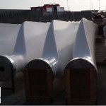 AEROSTAR blades for Bonus 95 / 120 kW or NORDTANK 130 kW or other 21m rotors